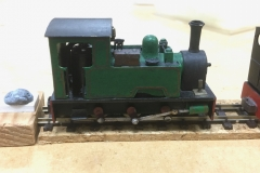 "Will King's Saltford Models ""Trojan"" 0-6-0T"
