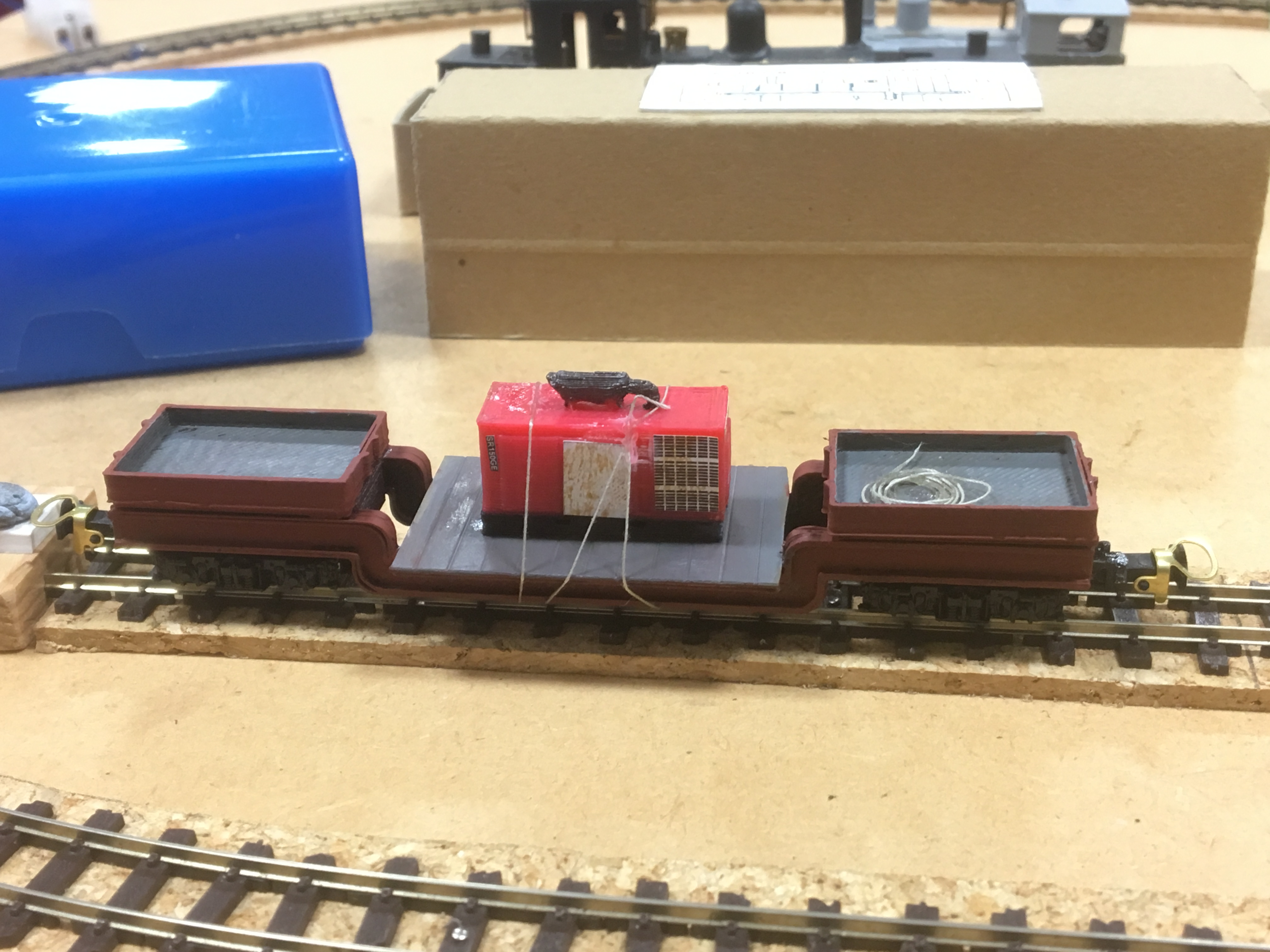 Andrew Bizley's 3D kit bogie bolster with generator load