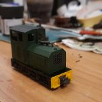 Ben Powell's A1 models diesel on a Bachmann MDT chassis. (photo © Ben Powell)